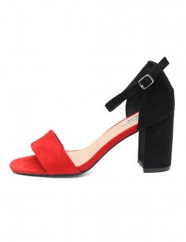 Sandalias Amour - Vermelho