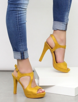 Sandalias Cael - Amarelo