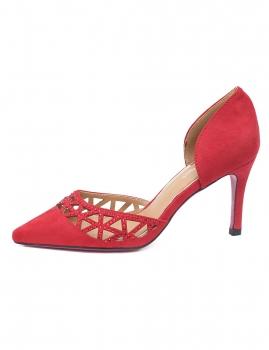 Sapatos Geri - Vermelho