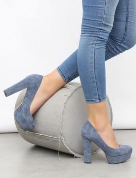 Sapatos Lemon - Azul