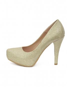 Sapatos Prince - Dourado
