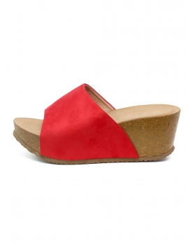 Sandalias Stela - Vermelho