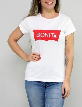 T-Shirt Bonita - Branco