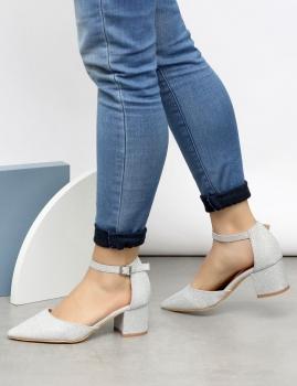 Sapatos Tracy - Prata