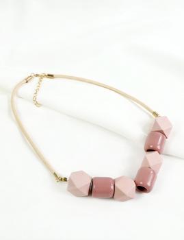 Colar Beads - Rosa