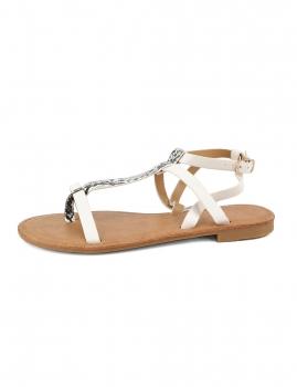 Sandalias Feliz - Branco