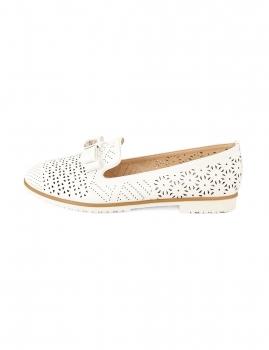 Sapatos Jacaré - Branco