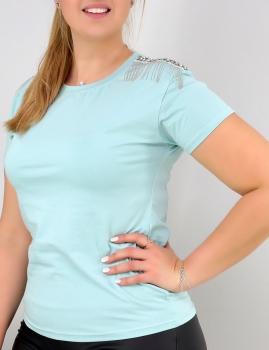 T-Shirt Marsella - Turquesa