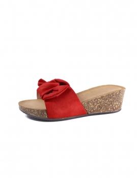 Sandalias Merital - Vermelho