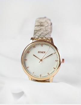 Relógio Hessen - Bege