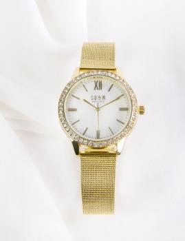 Relógio Shop - Dourado