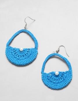 Brincos Tangor - Azul