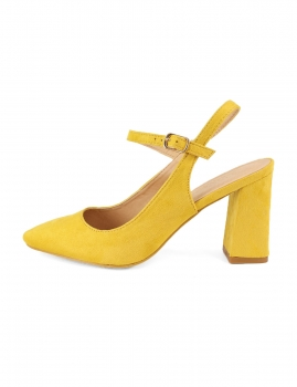 Sapatos Vastia - Amarelo