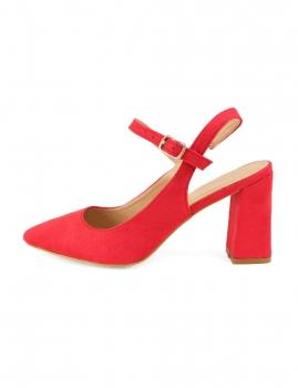 Sapatos Vastia - Vermelho