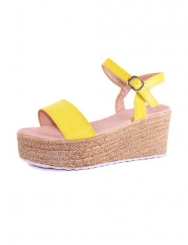 Sandalias Vertice - Amarelo