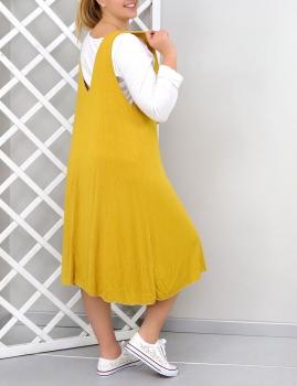 Vestido Marisa - Amarelo