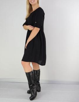 Vestido Trenci - Preto