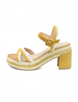 Sandálias Zenah - Amarelo