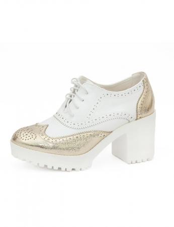 Sapatos Bittes - Dourado