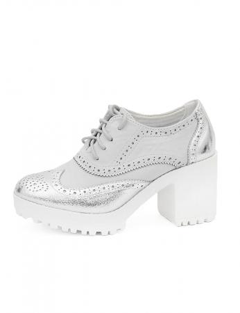 Sapatos Bittes - Prata
