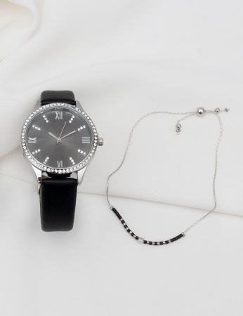 Conjunto Relógio e Pulseira - Coli