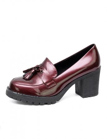 Sapatos Gracey - Bordo