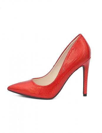 Sapatos Lanit - Vermelho