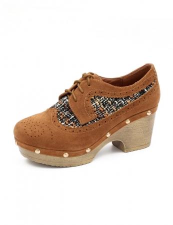 Sapatos Olavo - Camel