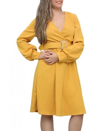 Vestido Pochelly - Amarelo