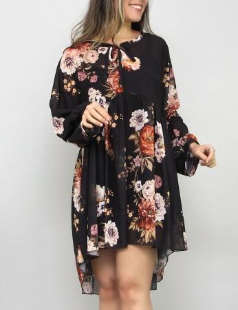 Vestido Titi - Preto