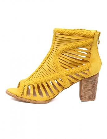 Botins Zoom - Amarelo