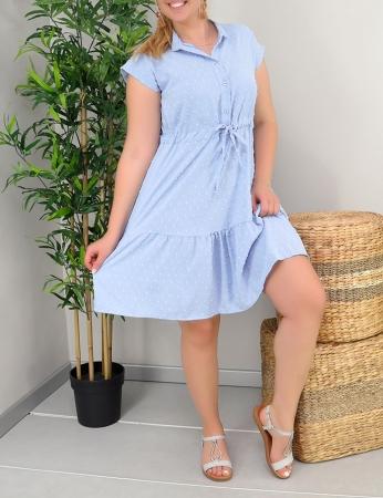 Vestido Abbie - Azul