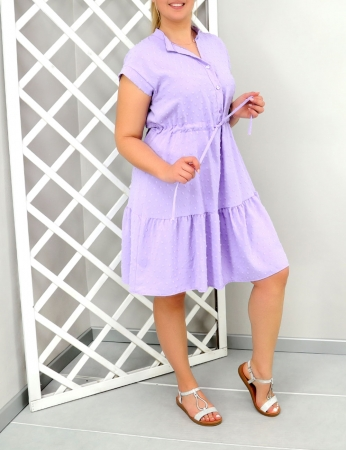 Vestido Abbie - Lilas