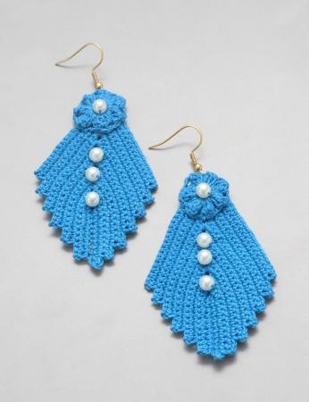 Brincos Acerola - Azul