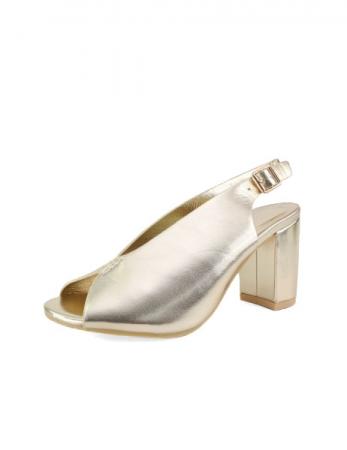 Sandalias Buçaco - Dourado