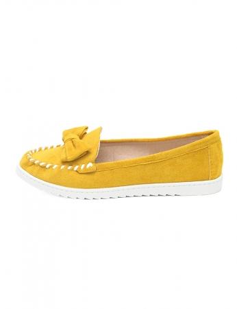 Sapatos Burguinha - Amarelo