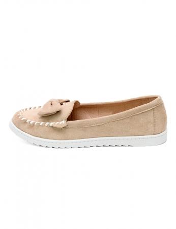 Sapatos Burguinha - Bege