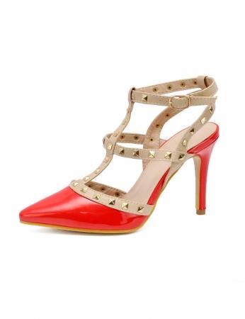 Sapatos Canda - Vermelho