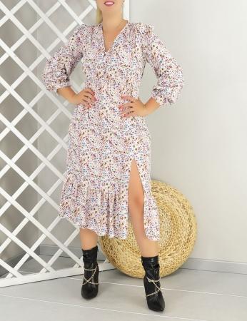 Vestido Canela - Lilás