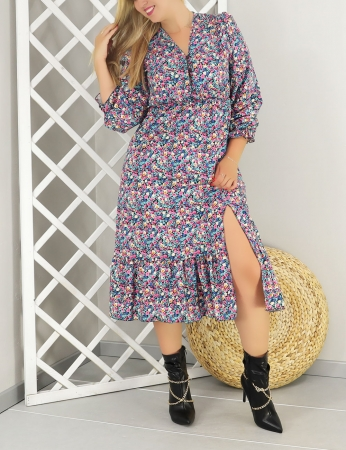 Vestido Canela - Preto