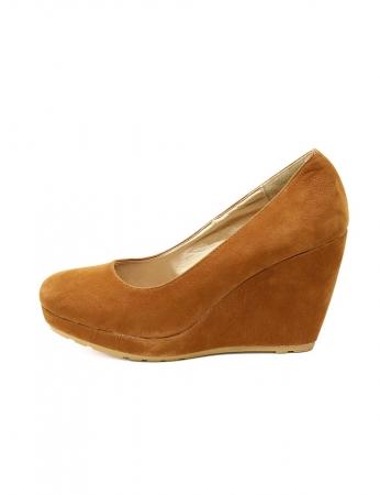 Sapatos Carmen - Camel
