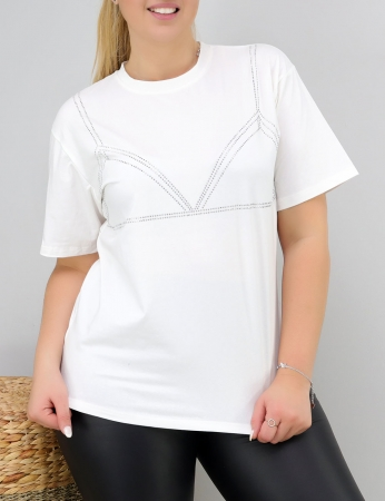 T-Shirt Chaka - Branca
