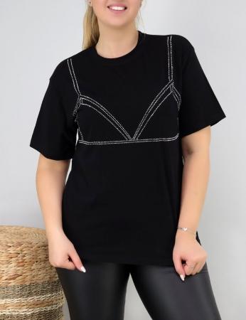 T-Shirt Chaka - Preta