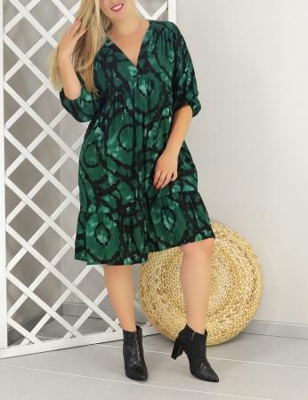 Vestido Cravo - Verde