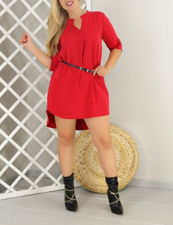Vestido Gaby - Vermelho