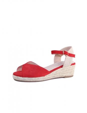 Sandálias June - Vermelho
