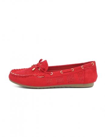 Sapatos Marinheiro - Vermelho