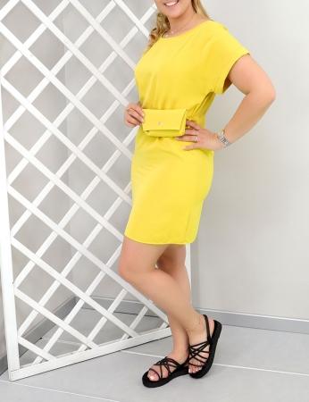Vestido Michi - Amarelo
