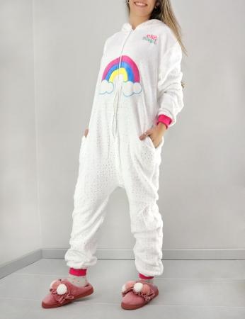 Pijama Uni - Branco