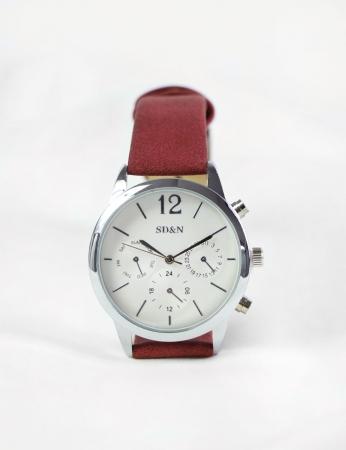 Relógio Turki - Bordo